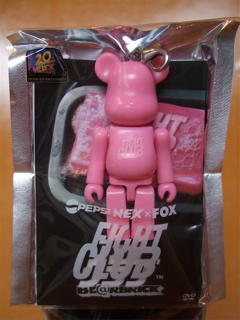 "PEPSI NEX × FOX ""FIGHT CLUB"" BE@RBRICK2"