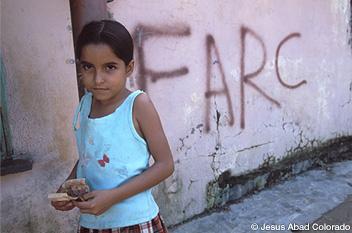 報じられなかった10の人道危機 コロンビア1