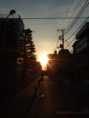 20080221夕焼け