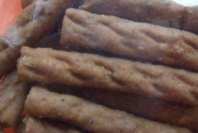 わかふじ寮 鹿肉のジャーキーカット2
