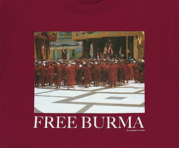 FREE BURMA WE ARE BUDDHIST,TOO Poetry Reading Japan13-2