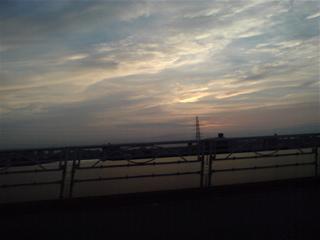20080604きれいな夕焼け
