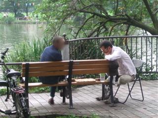 20080707上野公園不忍池のほとり5