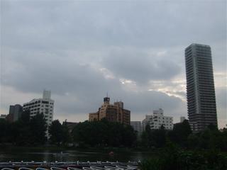 20080707上野公園不忍池のほとり14