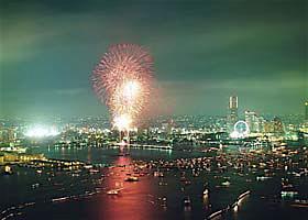横浜国際花火大会2008.7.20..