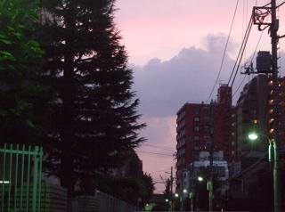 20080729夕焼け空