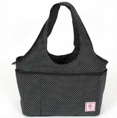 DDLab - minimal tote 水玉ブラック