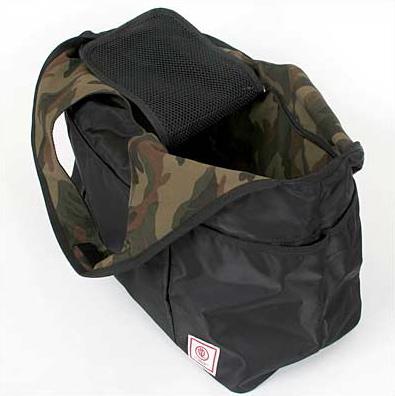DDLab - minimal tote ブラック / カモフラ