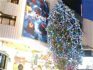 20081119ラフォーレクリスマスツリー