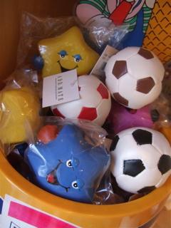 ラテックスTOY星&サッカーボール2