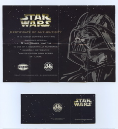 STAR WARS × FOSSIL 4