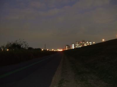 20081201荒川の土手夕焼け24