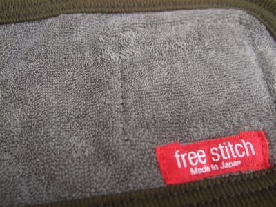 FREE STITCH; ブルキナコットンマナーバンド1