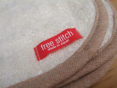 FREE STITCH; オーガニックブランケット1