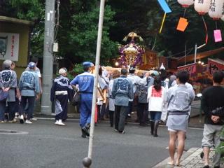 20090912 ビションフリーゼ フントヒュッテ 天祖神社御祭禮 3
