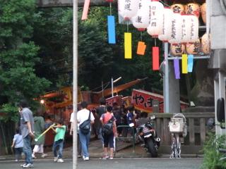 20090912 ビションフリーゼ フントヒュッテ 天祖神社御祭禮 5