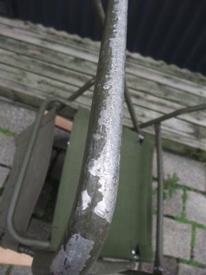 折りたたみチェア 軍放出品 グリーン カーキ 12