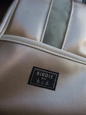 BIRDIE(バーディ) アポロキャリー キャリーバッグ ゴールド レッド スター スタッズ 3