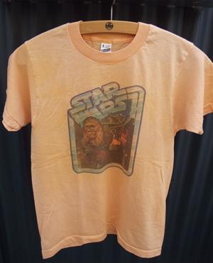 STA WARS スター・ウォーズ ハン・ソロ チューバッカ ヴィンテージTシャツ 染込みプリント 1980年代 80s 1