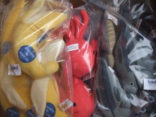 TOY おもちゃ わんちゃん タコ バナナ アジの開き 新巻鮭 エビ天 たい焼き セクシーランジェリー 1