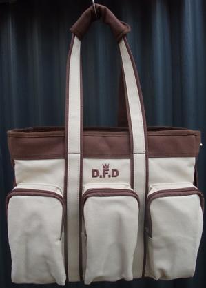 design f デザインエフ DFD ディーエフディー canvas dog carry キャンバスドッグキャリーバッグ 1