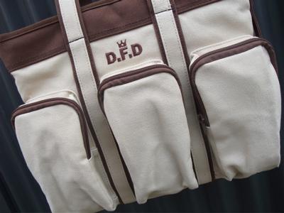 design f デザインエフ DFD ディーエフディー canvas dog carry キャンバスドッグキャリーバッグ 2