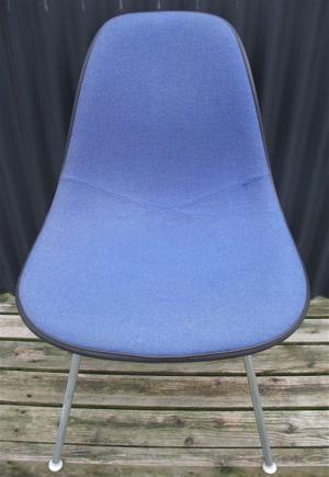 HERMAN MILLER社製 イームズデザイン ファブリック張り ヴィンテージチェア サイドシェルチェア Hベース チャールズ&レイ 1