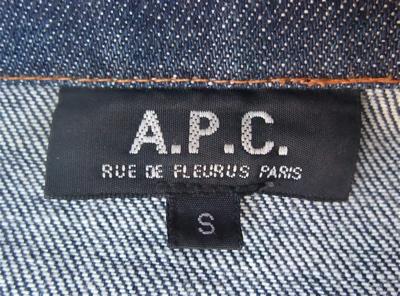 APC アーペーセー デニムジャケット ジージャン セカンドタイプ 赤耳付き ジャン・トゥイトゥー JEAN TOUITOU 6