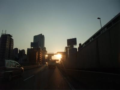 旅の記憶 大阪 サンセット 1