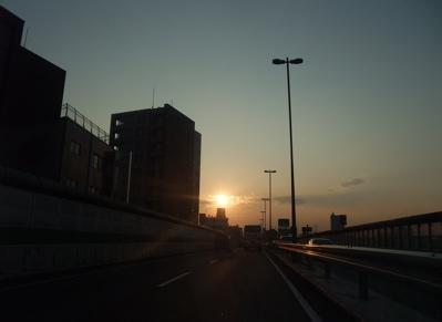 旅の記憶 大阪 サンセット 4