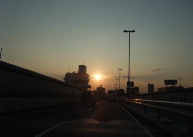 旅の記憶 大阪 サンセット 5