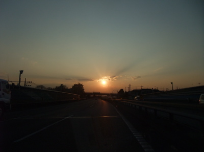 旅の記憶 大阪 サンセット 8