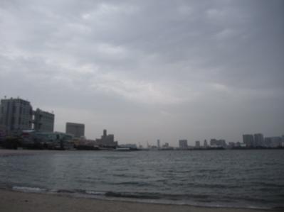 お台場 海浜公園 おさんぽ 犬 ドッグ わんこ フントヒュッテ hundehutte 東京都文京区 トリミングサロン 17