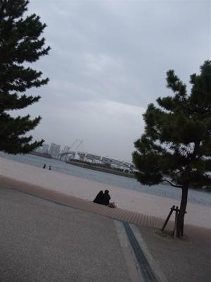 お台場 海浜公園 おさんぽ 犬 ドッグ わんこ フントヒュッテ hundehutte 東京都文京区 トリミングサロン 18
