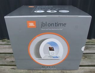 iPod®専用スピーカーのJBL on time™(JBL オンタイム)1