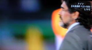 サッカーワールドカップ フントヒュッテ トリミング 東京 文京区 2010年南アフリカ大会 アルゼンチン対ドイツ クローゼ マラドーナ監督 メッシ.jpg