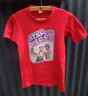 STAR WARS スター・ウォーズ ルーク・スカイウォーカー C3PO ヴィンテージTシャツ フントヒュッテ トリミングサロン 東京 文京区 3.jpg