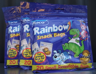 Baco Rainbow Snack Bags スナックバッグ レインボースナックバッグ ジッパー付きスナックバッグ おやつバッグ フントヒュッテ hundehutte 東京 文京区 駒込.jpg
