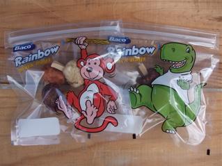 Baco Rainbow Snack Bagsレインボースナックバッグジッパー付きスナックバッグおやつバッグフントヒュッテ東京ビションフリーゼ子犬文京区トリミングサロン1.jpg