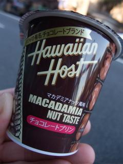 Hawaiian Hostハワイの有名チョコレートブランドハワイアンホーストチョコレートプリンマカダミアナッツ風味フントヒュッテビション東京ビションカットトリミング文京区2.jpg