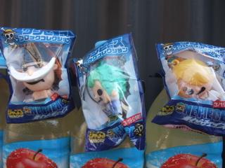ワンピースブロックコレクションサンジミホークシャンクスバギールフィチョッパーゾロエース白ひげシークレットパンダマンPANDAnatchan!なっちゃんりんご4.jpg