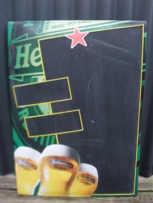 Heinekenハイネケン看板ホーロービンテージ黒板チャンピオンズリーグスポンサーフントヒュッテ東京ビションフリーゼトリミング文京区ビションカットhundehutte1.jpg