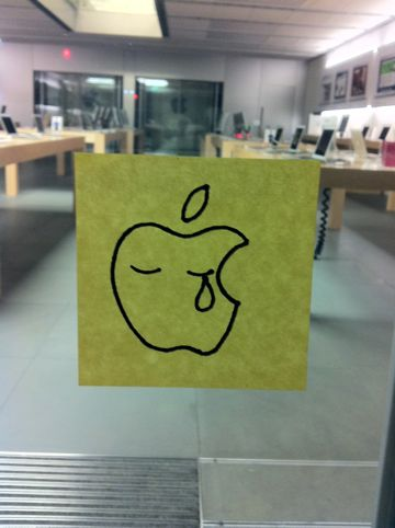 Steve Jobs 1955-2011スティーブ・ジョブスAppleは先見と創造性に満ちた天才を失いました。世界は一人の素晴らしい人物を失いました。2011年10月6日スティーブ・ジョブス氏逝去12.jpg