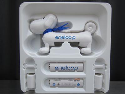 SANYOeneloopサンヨーエネループくり返し使う充電池eneloopyエネルーピー簡易バッテリーチェッカー鼻が光って充電残量をお知らせfunfuneneloopyエネループのマスコットキャラクター2.jpg