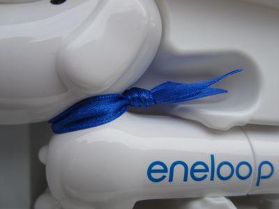 SANYOeneloopサンヨーエネループくり返し使う充電池eneloopyエネルーピー簡易バッテリーチェッカー鼻が光って充電残量をお知らせfunfuneneloopyエネループのマスコットキャラクター4.jpg