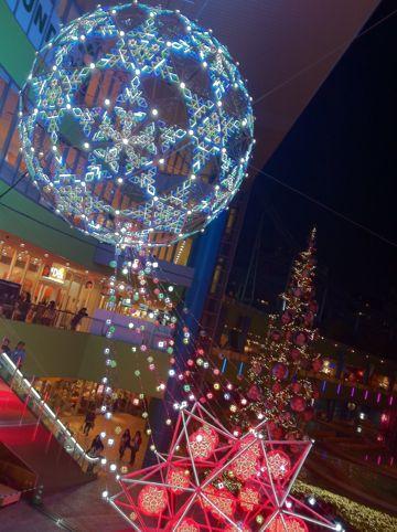 ラクーアイルミネーション2011東京ドームシティウインターイルミネーションラクーア東京の夜景ウインターフェスティバルLaQuaラクーア東京ドーム天然温泉スパ1.jpg