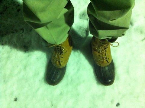 2012年初雪東京2012雪スカイツリーから落ちる雪塊2012年23日24日「東京都心で雪、路面凍結に注意」LLBean - Bean Boots,(ビーンブーツ)LLビーンアメカジ古着ヴィンテージ2.jpg