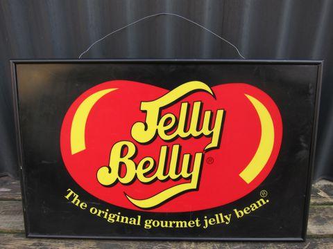 Jelly BellyジェリーベリージェリービーンズライトサインビンテージアメリカMADE IN USAアンティークライトサイン60s70s80s店舗用ライト非売品The original gourmet jelly bean.jpg