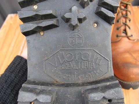 Chippewaビンテージブーツ黒タグ刺繍タグビブラムソールベロ裏刺繍黒タグ仕様60sチペワビンテージ古着MADE IN USAアメリカ製ワークブーツビンテージ5.jpg