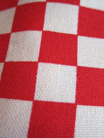 VANS SLIPON 白:赤 チェッカーキャンバスMADE IN USAdead stockDeadstockバンズスリッポンチェッカービンテージスニーカー古着ヴィンテージデッドストックデットストック3.jpg